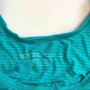 Beyond yoga open back top